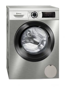 Lavadora Balay de Carga Frontal 3TS994XT 9 kg | Acero antihuellas | 1400 rpm | Extrasilenciosa | Clase A+++ | 10 años garantía