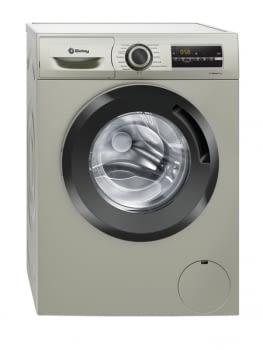 Lavadora de Carga Frontal Balay 3TS983XE | Color Acero Mate | Motor ExtraSilencioso | 8kg | 1200 rpm  | Clase A+++