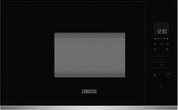 Microondas Zanussi ZMBN2SX Negro de 17L con 5 niveles de potencia a 800W