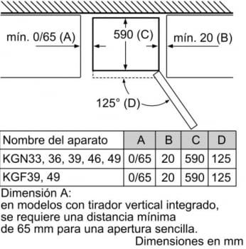 Frigorífico Combi Balay 3KFE776WE de 203x70cm | Color Blanco | cajón ExtraFresh | Clase E - 7