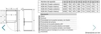 Frigorífico Combi Balay 3KFE776WE de 203x70cm | Color Blanco | cajón ExtraFresh | Clase E - 8