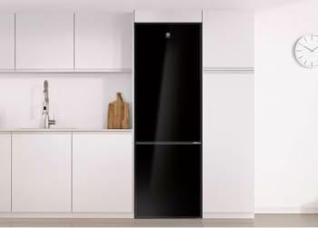 Frigorífico Combi Balay 3KFE765BI de 203x60cm | Cristal Negro | cajón ExtraFresh | Clase E - 2