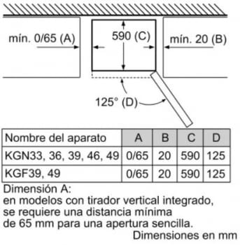 Frigorífico Combi Balay 3KFE765GI de 203x60cm   Color Gris Antracita   cajón ExtraFresh   No Frost   Clase E - 15