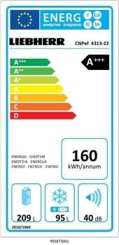 Frigorífico Combi Liebherr CNPef 4313 Inox | 186.1 x 60 cm | No Frost | Clase D - 10