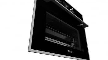 Horno Compacto Teka HLC 847 SC (40589020) Cristal Negro de 45 cm con 15 funciones de cocinado + Vapor a 5 alturas | Limpieza Hydroclean PRO | Clase A+ - 14