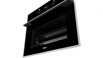 Horno Compacto Teka HLC 847 SC (40589020) Cristal Negro de 45 cm con 15 funciones de cocinado + Vapor a 5 alturas | Limpieza Hydroclean PRO | Clase A+ - 15