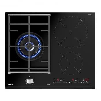 Placa Híbrida Inducción + Gas Teka JZC 63312 ABN (Ref. 112570112) de 60cm 2 Zonas Inducción 1 Quemador Gas | Control MultiSlider | PowerPlus - 3