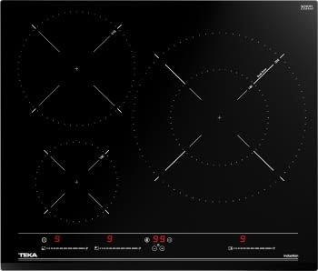 Placa de Inducción Teka IZC 63320 MSS (112510012) 60cm 3 Zonas Control MultiSlider | PowerPlus y STOP & GO - 2
