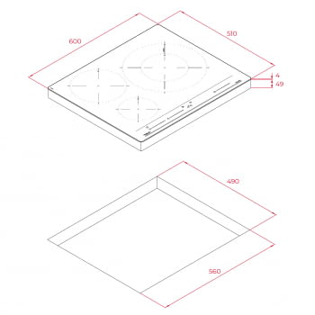 Placa de Inducción Teka IZC 63320 MSS (Ref. 112510012) 60cm 3 Zonas Control MultiSlider | PowerPlus y STOP & GO| Stock - 13