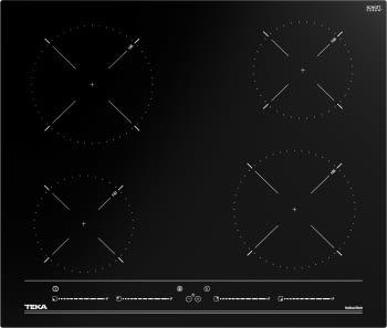 Placa de Inducción TekaIBC 64010 MSS (Ref. 112520012) | 60 cm | 4 Zonas | Control MultiSlider | Función PowerPlus y STOP & GO