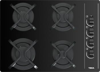 Placa de Gas Teka GBC 64003 (112580004) de 60 cm con 4 Quemadores de Gas Butano