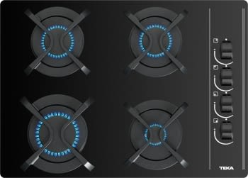 Placa de Gas Teka GBC 64003 (112580003) de 60 cm con 4 Quemadores de Gas Natural | STOCK