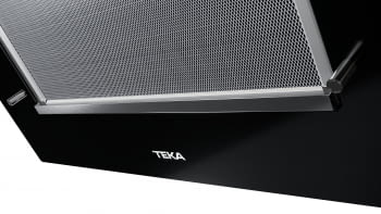 """Campana decorativa vertical Teka DVT 68660 TBS (112930039) en Cristal Negro, de 60cm a 698 m³/h   Sistema aspiración Dual y Perimetral """"Contour""""    Clase A+ - 10"""