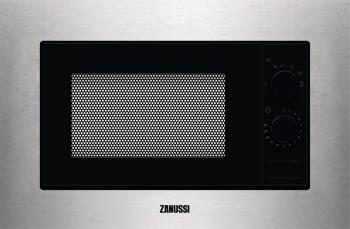 Microondas Zanussi ZMSN5SX Semi integrado, con plato giratorio y 6 niveles de potencia a 700 W