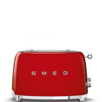 Tostadora Vintage SMEG TSF01RDEU | Color Rojo | Estilo 50 Style