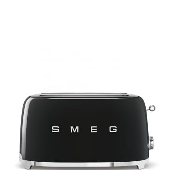 Tostadora Vintage XXL TSF02BLEU SMEG | Color Negro | 3 funciones | 1500W | Estilo 50 Style