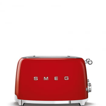 Tostadora Americana SMEG TSF03RDEU 6 Niveles de Tostado | 2000W | 3 Funciones | Color Rojo | Stock - 6