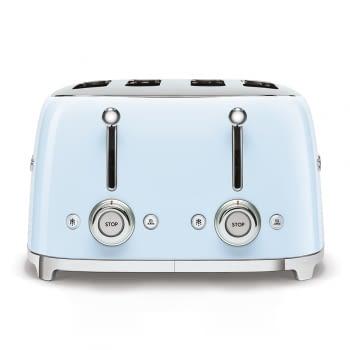 Tostadora Americana TSF03PBEU SMEG con 6 funciones de tostado | 2000 W | 3 Funciones | Color Azul pastel | stock - 3