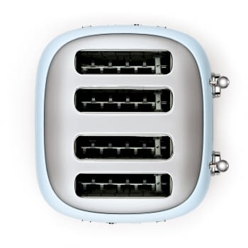 Tostadora Americana TSF03PBEU SMEG con 6 funciones de tostado | 2000 W | 3 Funciones | Color Azul pastel | stock - 6
