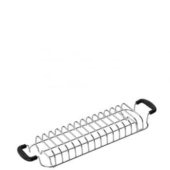 Accesorio Calentador de Pan SMEG TSBW02 Inoxidable | Compatible con: TSF02