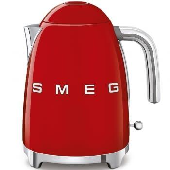 Hervidor Smeg KLF03RDEU en color Rojo de 1.7 Litros | Máx 100ºC con apagado automático