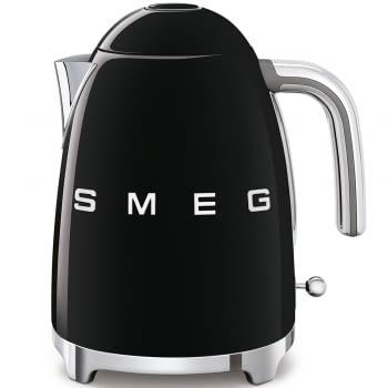 Hervidor Smeg KLF03BLEU en color Negro de 1.7 Litros | Máx 100ºC con apagado automático