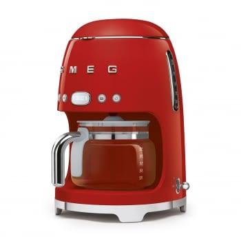 Cafetera de Goteo DCF02RDEU SMEG de 1050 W con Sistema de goteo-filtro | Display LED | Depósito: 1,4L | 3 sistemas de protección | Color: Rojo - 2