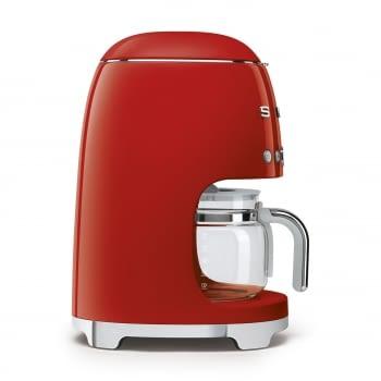 Cafetera de Goteo DCF02RDEU SMEG de 1050 W con Sistema de goteo-filtro | Display LED | Depósito: 1,4L | 3 sistemas de protección | Color: Rojo - 4