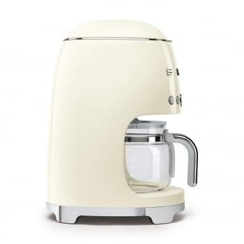 Cafetera de Goteo DCF02CREU SMEG de 1050 W con Sistema de goteo-filtro | Display LED | Depósito: 1,4L | 3 sistemas de protección | Color: Crema - 4