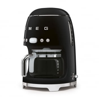 Cafetera de Goteo DCF02BLEU SMEG de 1050 W con Sistema de goteo-filtro | Display LED | Depósito: 1,4L | 3 sistemas de protección | Color: Negra - 2