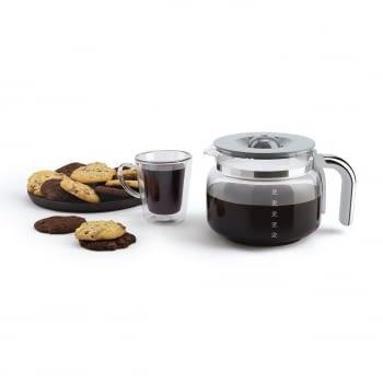 Cafetera de Goteo DCF02BLEU SMEG de 1050 W con Sistema de goteo-filtro | Display LED | Depósito: 1,4L | 3 sistemas de protección | Color: Negra - 7
