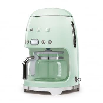 Cafetera de Goteo DCF02PGEU SMEG de 1050 W con Sistema de goteo-filtro | Display LED | Depósito: 1,4L | 3 sistemas de protección | Color: Verde Agua - 2