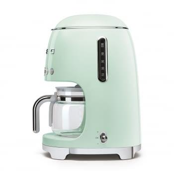 Cafetera de Goteo DCF02PGEU SMEG de 1050 W con Sistema de goteo-filtro | Display LED | Depósito: 1,4L | 3 sistemas de protección | Color: Verde Agua - 3