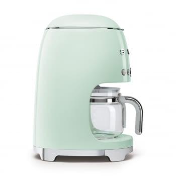 Cafetera de Goteo DCF02PGEU SMEG de 1050 W con Sistema de goteo-filtro | Display LED | Depósito: 1,4L | 3 sistemas de protección | Color: Verde Agua - 4