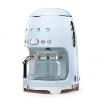 Cafetera de Goteo DCF02PBEU SMEG de 1050 W con Sistema de goteo-filtro | Display LED | Depósito: 1,4L | 3 sistemas de protección | Color: Azul - 2