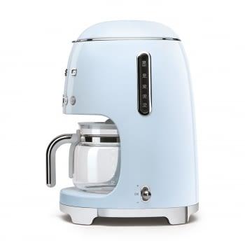 Cafetera de Goteo DCF02PBEU SMEG de 1050 W con Sistema de goteo-filtro | Display LED | Depósito: 1,4L | 3 sistemas de protección | Color: Azul - 3