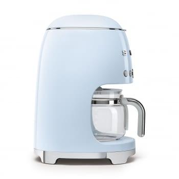 Cafetera de Goteo DCF02PBEU SMEG de 1050 W con Sistema de goteo-filtro | Display LED | Depósito: 1,4L | 3 sistemas de protección | Color: Azul - 4
