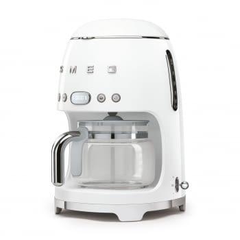 Cafetera de Goteo DCF02WHEU SMEG de 1050 W con Sistema de goteo-filtro | Display LED | Depósito: 1,4L | 3 sistemas de protección | Color: Blanco - 2