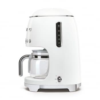 Cafetera de Goteo DCF02WHEU SMEG de 1050 W con Sistema de goteo-filtro | Display LED | Depósito: 1,4L | 3 sistemas de protección | Color: Blanco - 3
