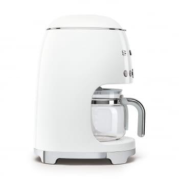 Cafetera de Goteo DCF02WHEU SMEG de 1050 W con Sistema de goteo-filtro | Display LED | Depósito: 1,4L | 3 sistemas de protección | Color: Blanco - 4