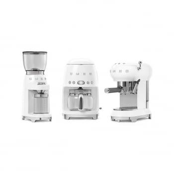 Cafetera de Goteo DCF02WHEU SMEG de 1050 W con Sistema de goteo-filtro | Display LED | Depósito: 1,4L | 3 sistemas de protección | Color: Blanco - 8