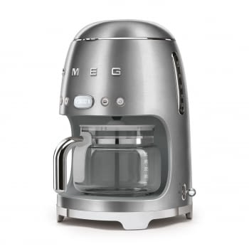 Cafetera de Goteo DCF02SSEU SMEG de 1050 W con Sistema de goteo-filtro | Display LED | Depósito: 1,4L | 3 sistemas de protección | Acabado Inoxidable - 6