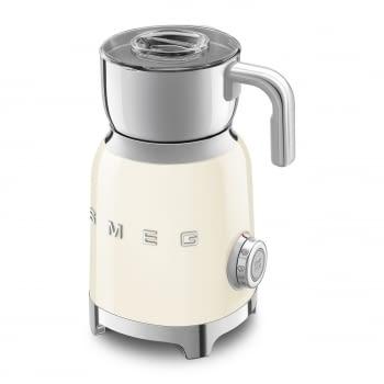 Espumador de leche MFF01CREU SMEG Crema con Sistema de inducción | Capacidad recipiente 600 ml | Capacidad para espumar 250gr | 8 Funciones - 2