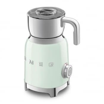 Espumador de leche MFF01PGEU SMEG Verde Agua con Sistema de inducción | Capacidad recipiente 600 ml | Capacidad para espumar 250gr | 8 Funciones - 6