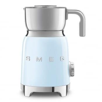 Espumador de leche MFF01PBEU SMEG Azul con Sistema de inducción | Capacidad recipiente 600 ml | Capacidad para espumar 250gr | 8 Funciones