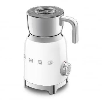 Espumador de leche MFF01WHEU  SMEG Blanco con Sistema de inducción | Capacidad recipiente 600 ml | Capacidad para espumar 250gr | 8 Funciones - 3