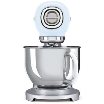 Robot de cocina SMF02PBEU SMEG Azul de 800 W, con Sistema Planetario | Motor Direct drive | 10 velocidades variables | Capacidad cuenco bol 4,8L - 2