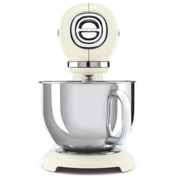 Robot de cocina SMF03CREU SMEG Crema de 800 W, con Sistema Planetario   Motor Direct drive   10 velocidades variables   Capacidad cuenco bol 4,8L - 2