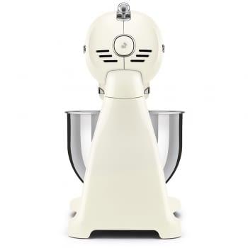 Robot de cocina SMF03CREU SMEG Crema de 800 W, con Sistema Planetario   Motor Direct drive   10 velocidades variables   Capacidad cuenco bol 4,8L - 4