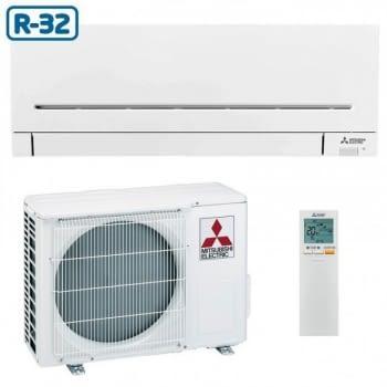 Set Aire acondicionado Mitsubishi MSZ-AP20VG Split 1x1 en color Blanco con control WiFi | Clase A+++